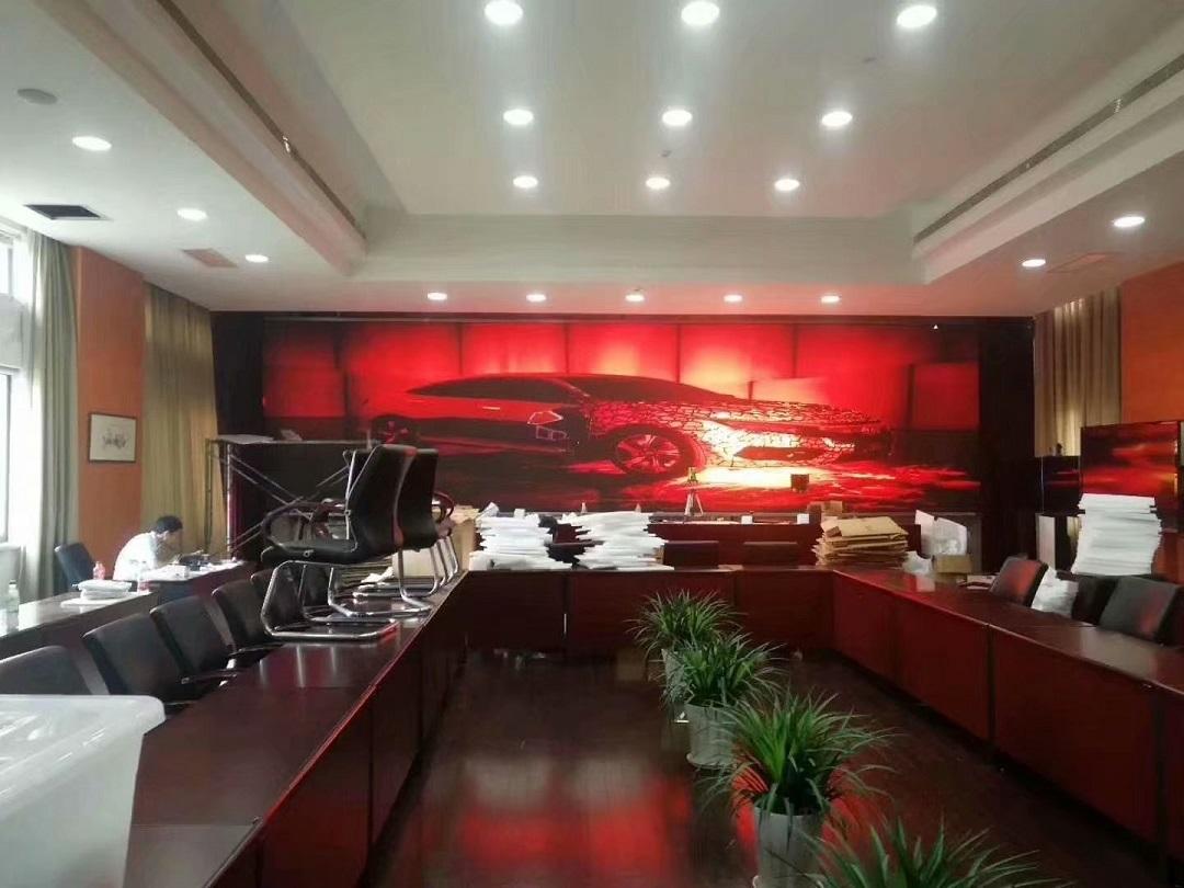 苏州政法委P1.875小间距LED显示屏完美点亮!