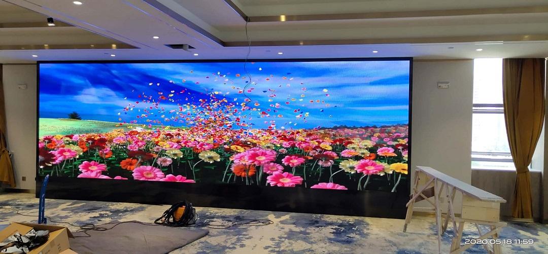 维也纳酒店苏州店3840刷新P3室内全彩完美点亮!