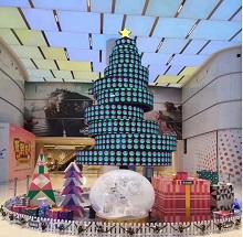 上海某高端购物广场LED显示屏