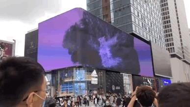 高清炫酷 REESTAR点亮户外3D巨幕
